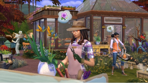 The Sims 4 Seasons adds Thor, bees, and a romanceable scarecrow