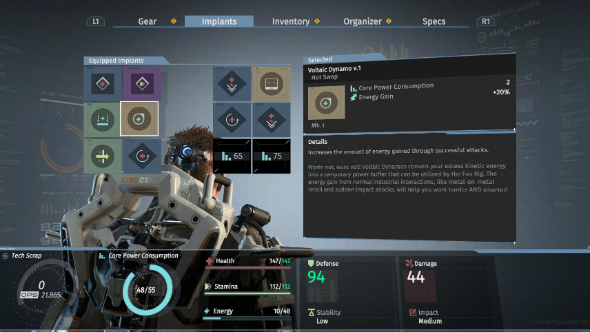 The surge review inventory