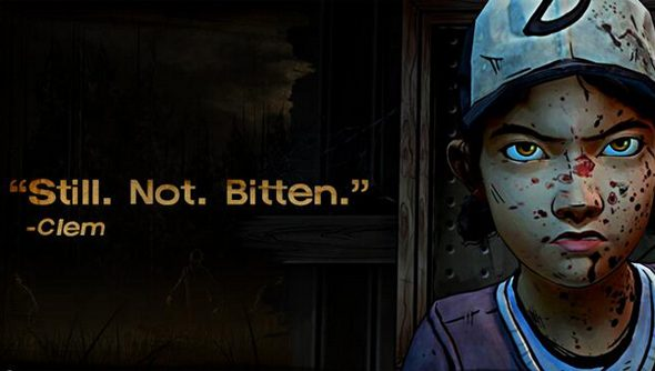 Clementine: new star of The Walking Dead.