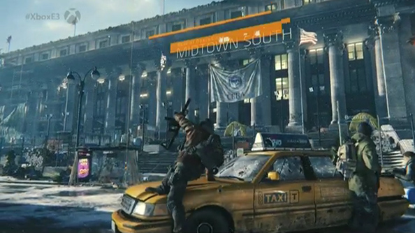 The Division still has car doors that close when you run into them