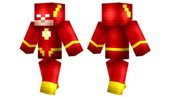 best minecraft skins the flash