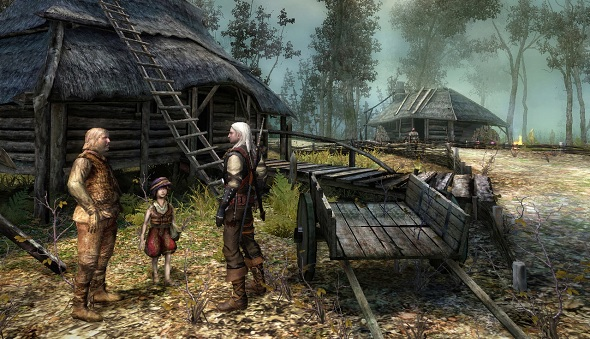 The Witcher 1 still shares the intoxicating atmosphere of
