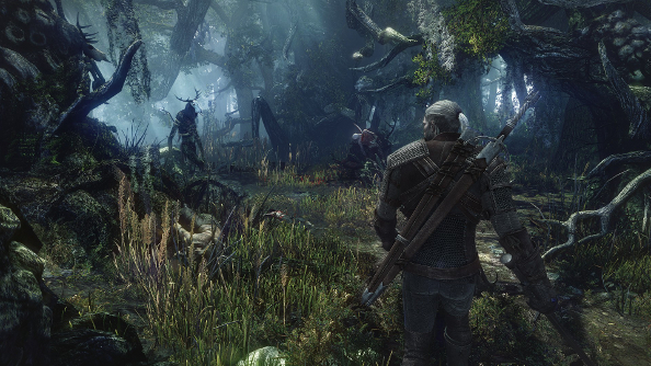 Here's Johnny: Geralt makes a new chum in this 35 minute demo of The Witcher 3