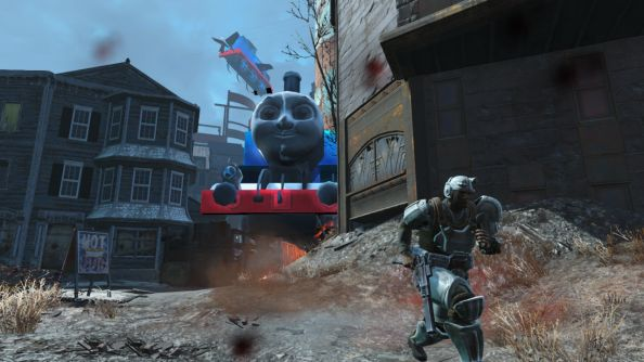 Fallout 4 mod replaces mini-nukes and enemies with Thomas The Tank