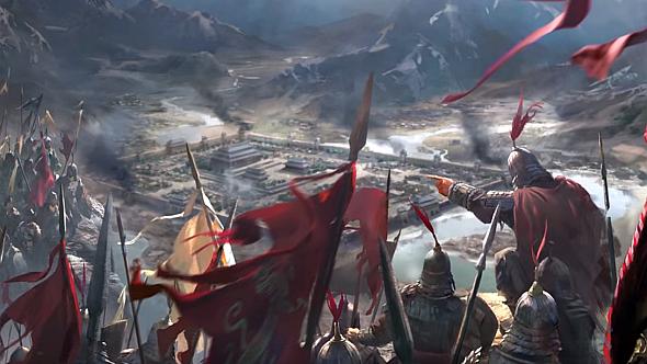 Total War Three Kingdoms siege
