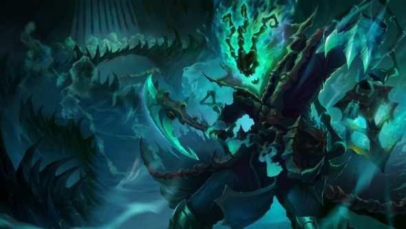 Thresh splash art