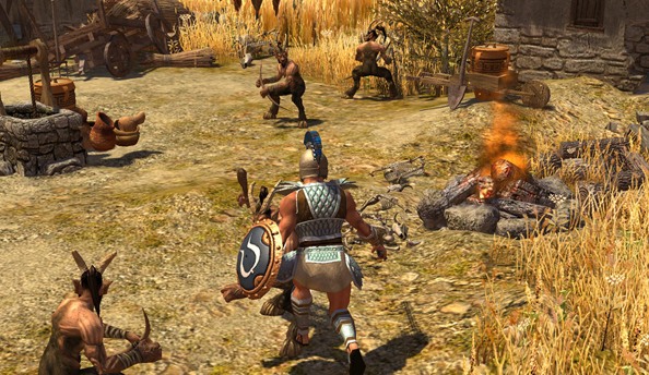 Titan Quest added to Humble THQ Bundle