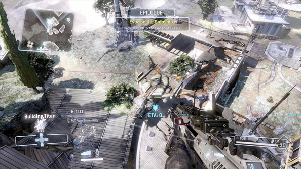 "Titanfall developer has ""to break people in"" to their shooter's verticality"
