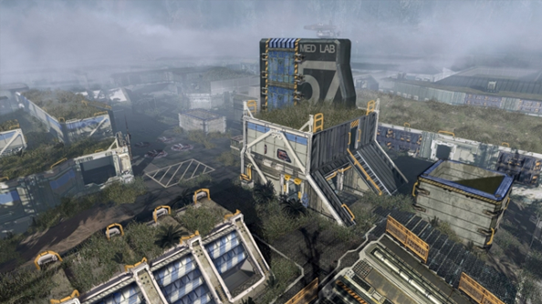 Titanfall map Zone 18 eliminates rooftop advantage to foster a pilots' massacre