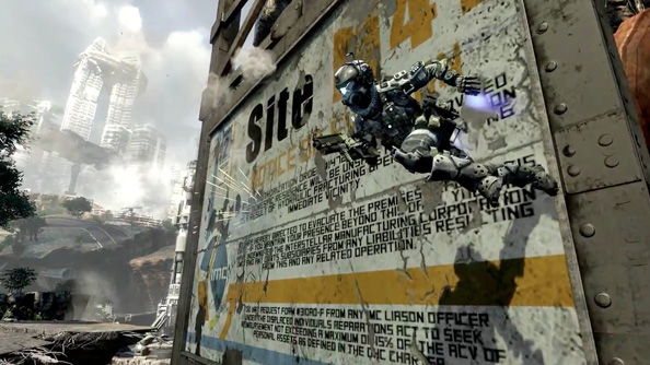 Titanfall: a game far more novel than its aesthetic lets on.