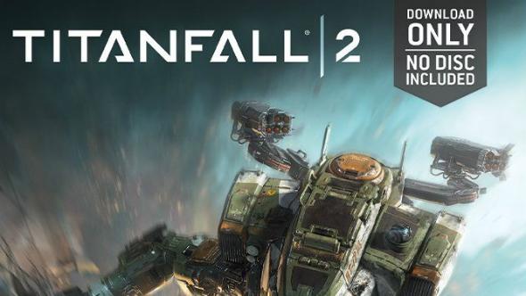 Titanfall 2 no disc