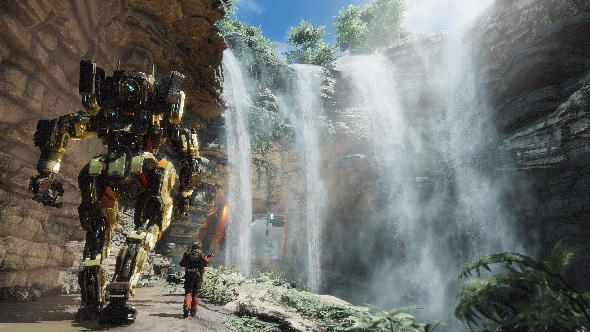 Titanfall 2's Jack Cooper and BT-7274
