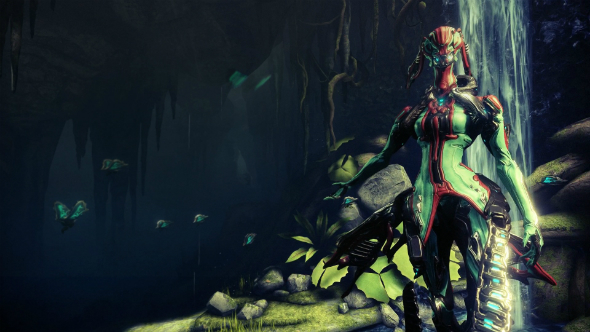 Warframe PC update brings a fairy that fights with a razor-winged butterfly swarm