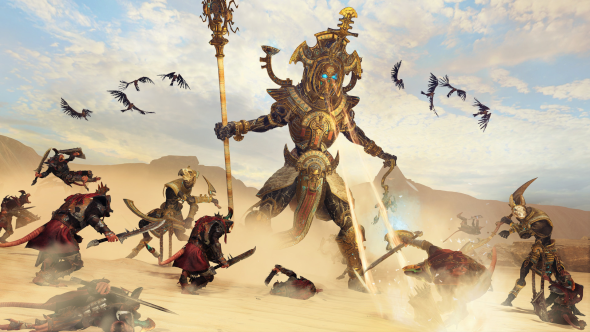 A Tomb King Hierotitan