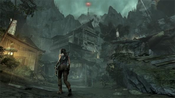 Tomb Raider is a wonderful game about falling over and shouting a lot