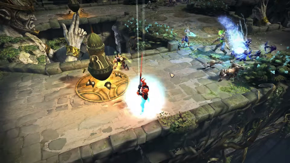 Tome: Immortal Arena is another MOBA, but it's doing away with a lot of genre mainstays