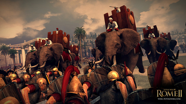 A new way to be trampled: Total War: Rome II updated with geographically accurate elephants