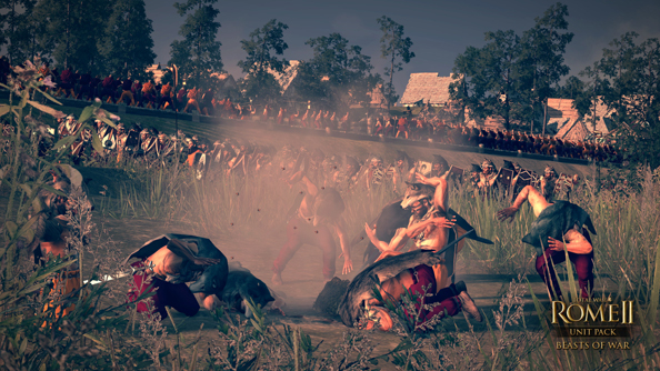 Total War: Rome II Beasts of War DLC introduces throwing bees, snakes, scorpions