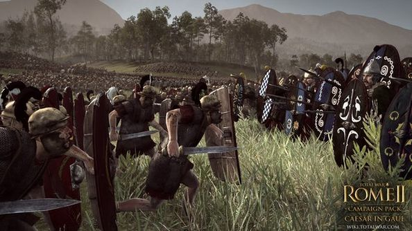 Creative Assembly field Total War: Rome II's first standalone expansion pack: Caesar in Gaul