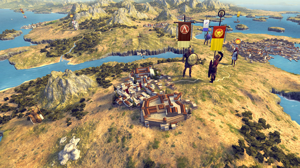 "Creative Assembly divulge secrets of Rome 2 in campaign map-focused video; ""Everyone likes bread"""