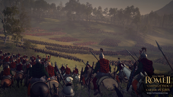Come Caesar these screenshots of Total War: Rome II's Gallic campaign