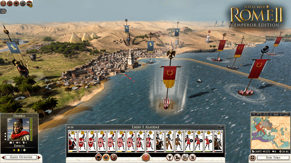 Total War: Rome II's free Imperator Augustus campaign to keep things civil on September 16