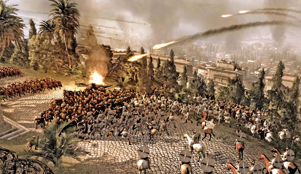 How Total War: Rome 2's scaled up campaign map will scale back the siege battles
