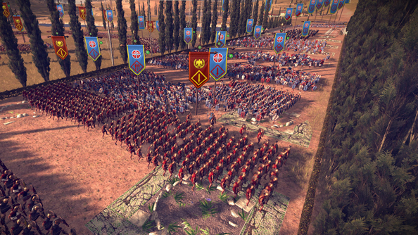 "Total War: Rome II coming to SteamOS ""early next year"", Steam Controller support to follow"