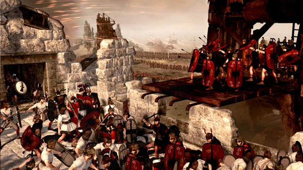 Total War: Rome II is patched for a fourth time, starts to look like a lecturer's jacket
