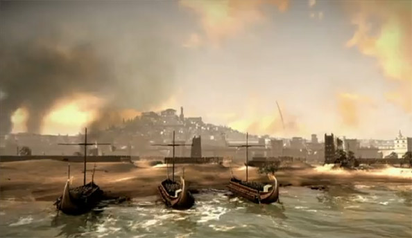 Total War: Rome 2 combines land and sea assaults; see them in action