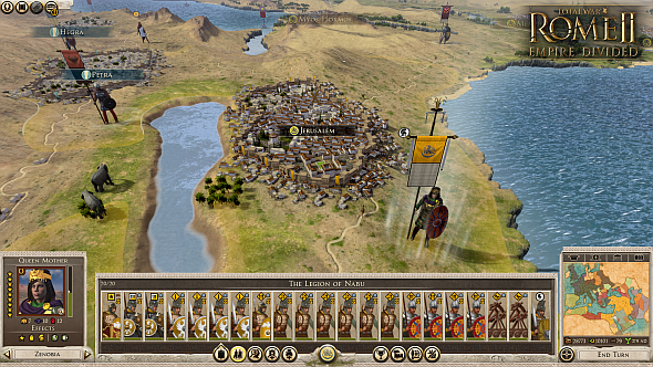 Total War: Rome II - Empire Divided campaign