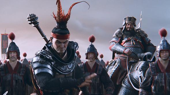 total war three kingdoms announcement