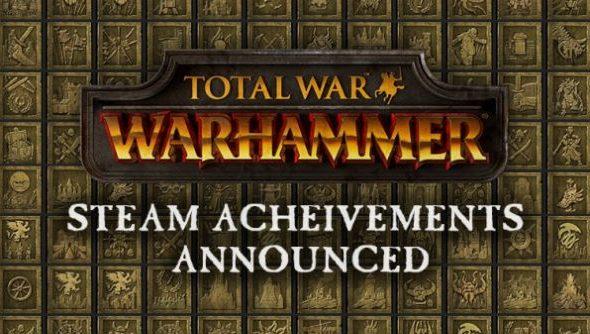 Total War Warhammer achievements