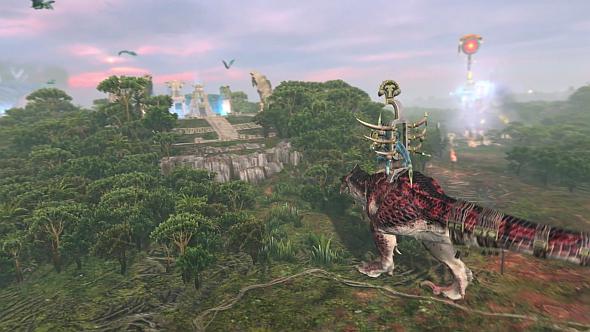 Kroq-Gar marches on the Fallen Gates