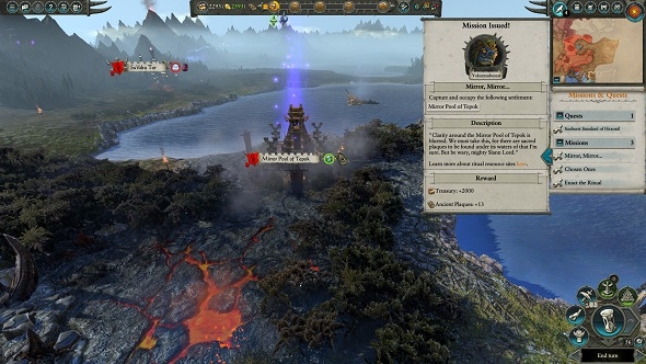 Total War Warhammer 2 lizardmen mirror mirror