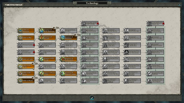 Total War Warhammer 2 lizardmen tech tree