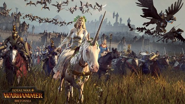 Bretonnia are now available (for free) in Total War: Warhammer