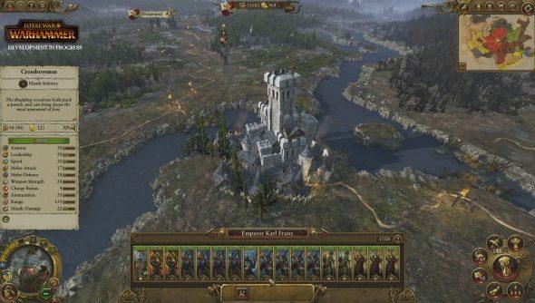 Total War Warhammer empire campaign