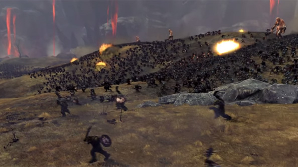 Here's the first in-engine trailer for Total War: Warhammer