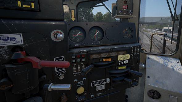 Train Sim World cab