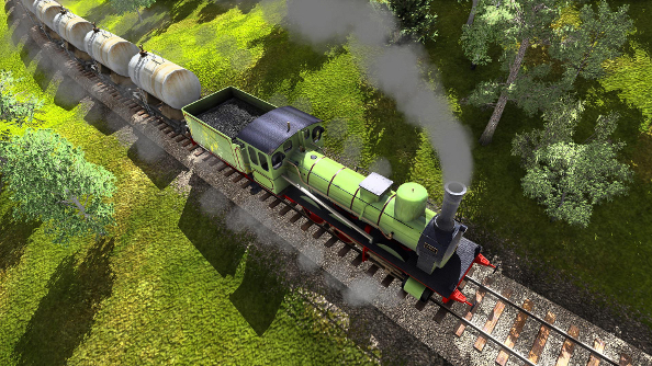 """""""Modern Transport Tycoon"""" Train Fever launches this week, with 150 years worth of trains"""