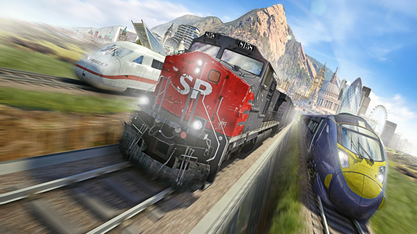 Train Simulator 2014 announced, will be free update for Train Simulator players