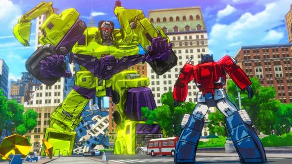 transformers devastation steam removed
