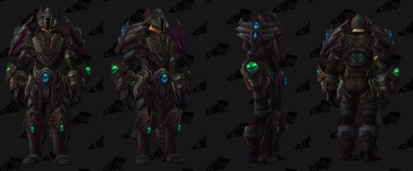 Trial of Valor plate set