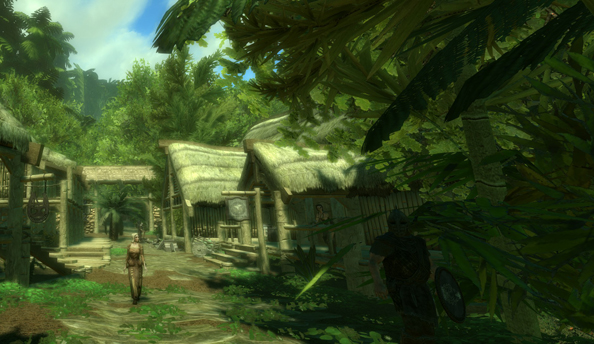 Tropical Skyrim throws out climactic dragon fights for climate change