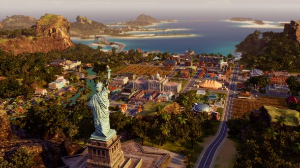 Tropico 6 Statue of Liberty