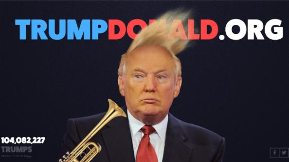 trump donald game