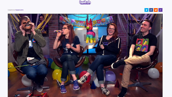 Twitch clips let viewers share cool livestream moments as they happen