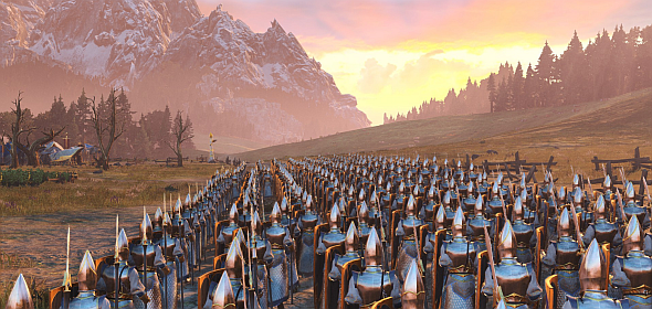 High Elves on the march