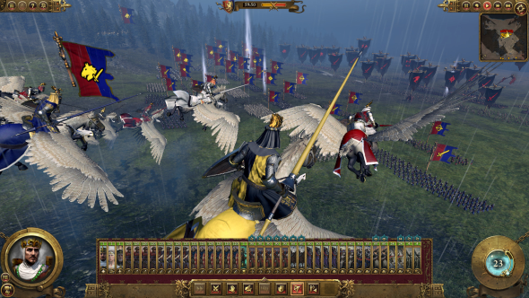 Pegasus Knights, as if you didn't already know Bretonnia were the coolest army.